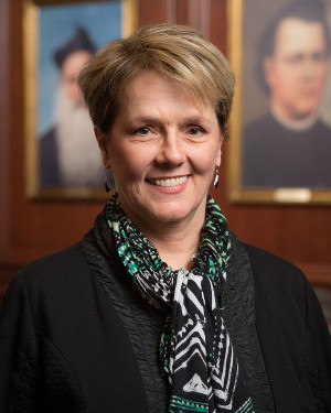 Mar. 23, 2016; Emerita Faculty Catherine Perry (Photo by Matt Cashore/University of Notre Dame)