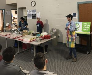 Michiana VegEDU cooking demo